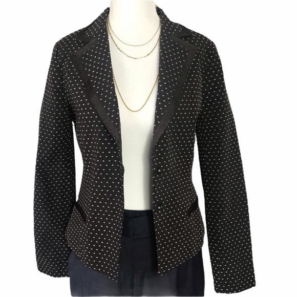 H&M polka dots long sleeves blazer